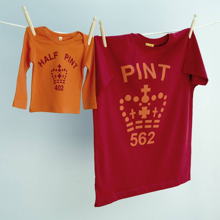 Twisted Twee Pint and Half Pint Top Sets