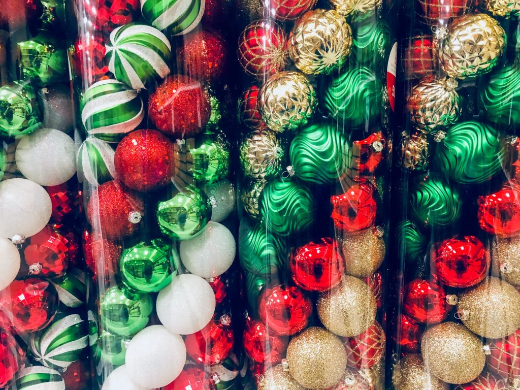 Candy Cane Baubles