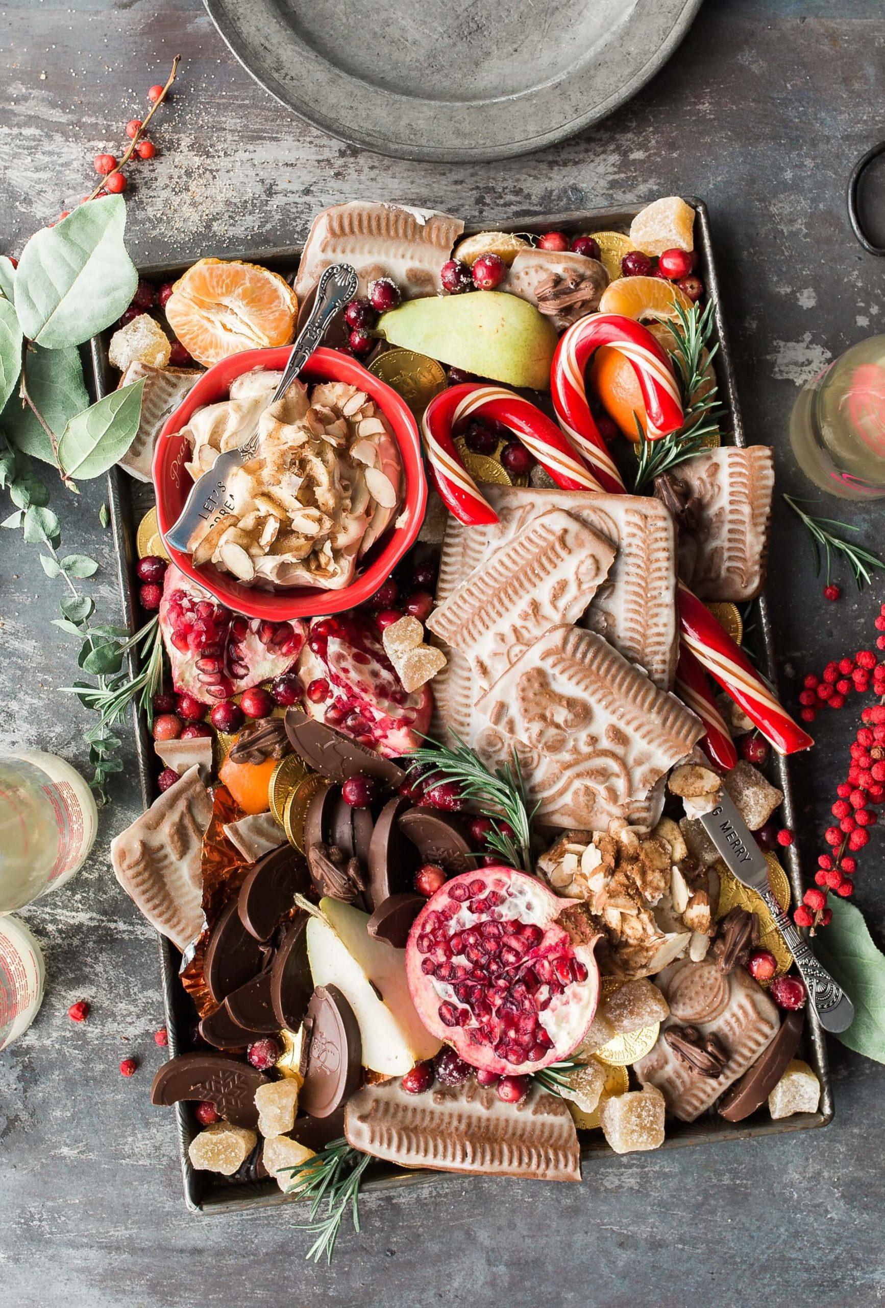 Christmas Themed OpulentBreakfast Board