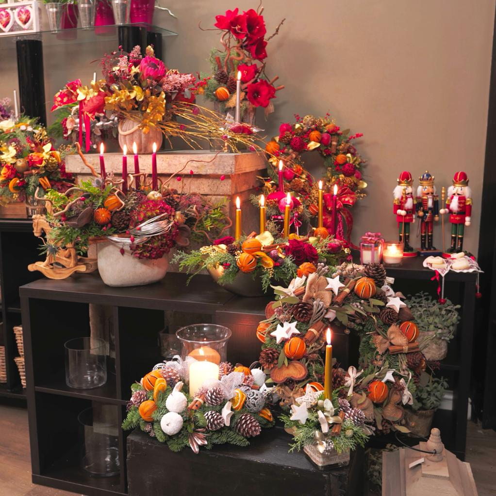 Blooming Boutique Christmas Floral Displays