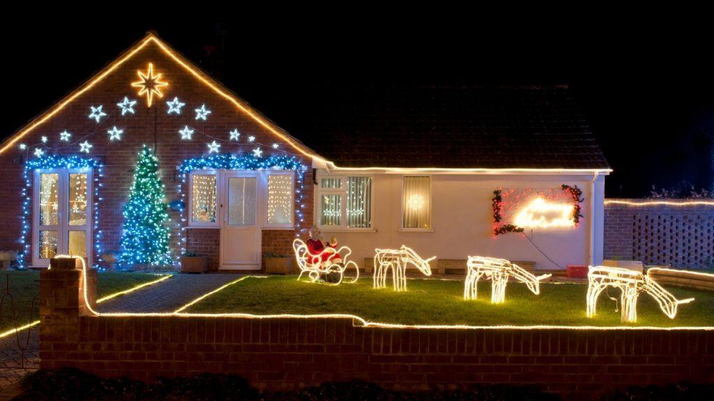 Christmas Lights at Home