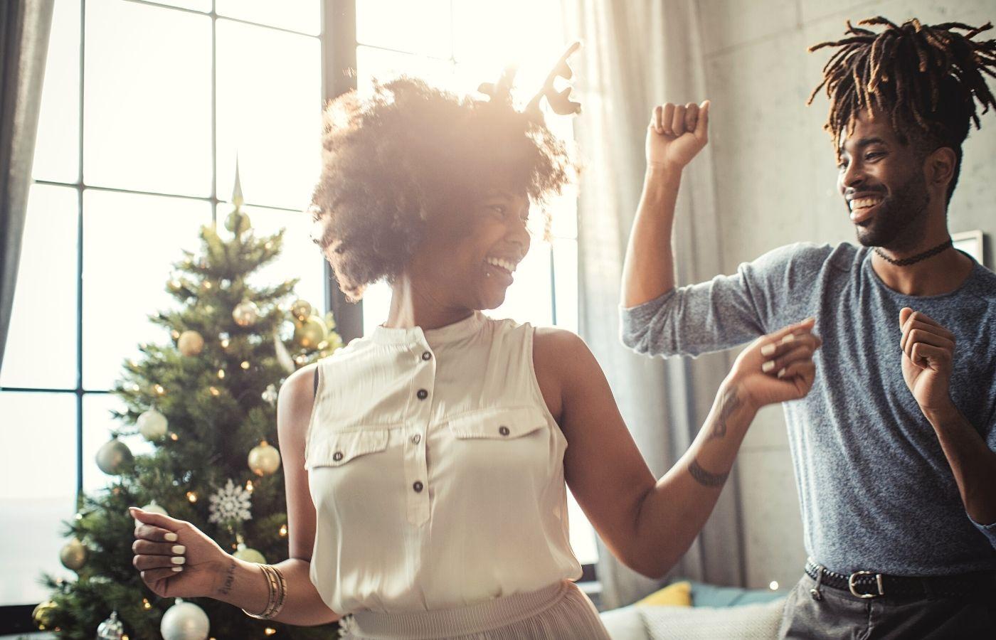Dancing at Christmas