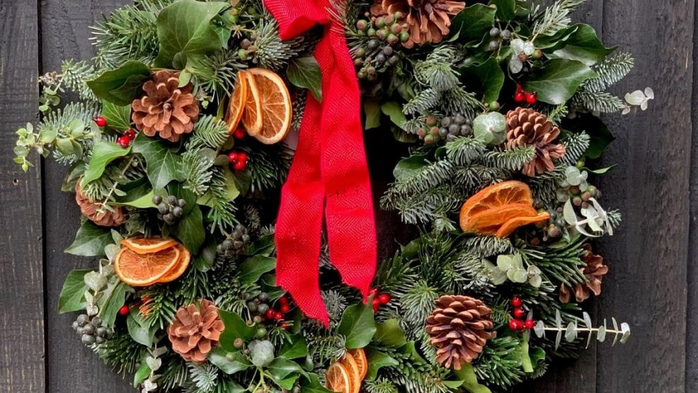 A Word About Christmas Wreaths