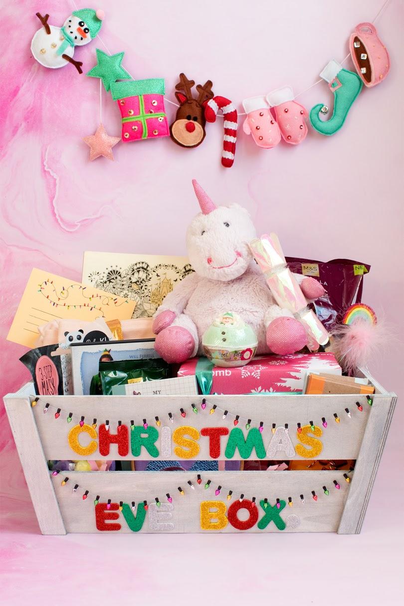 DIY Christmas Eve Box Idea for a young girl