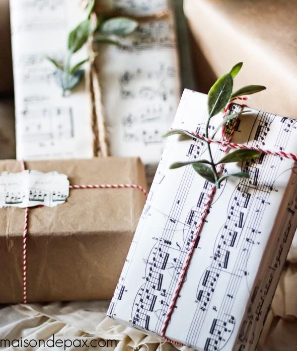 MaisondePax Music Score Wrapping