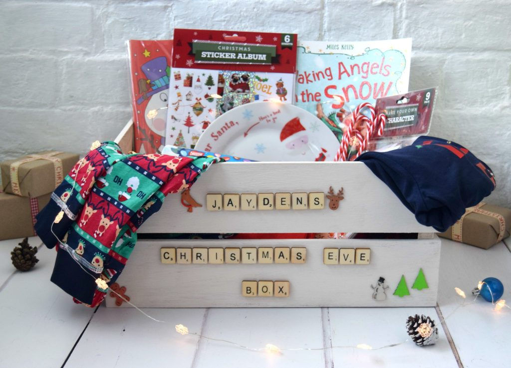 Sticky Mud & Belly Laughs DIY Christmas Eve Box