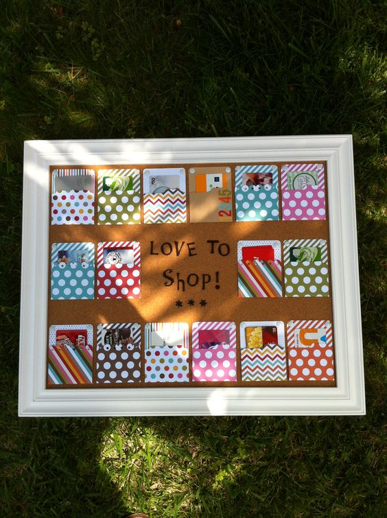 The Merry Little Christmas Project Gift Card Frame