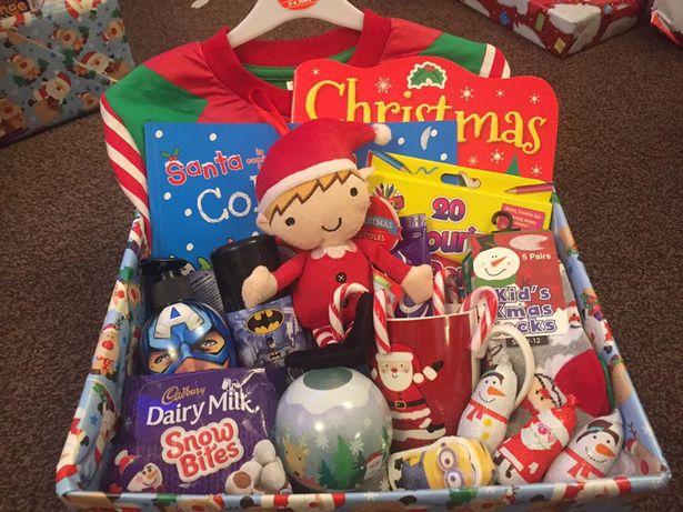Christmas Eve Box full of treats