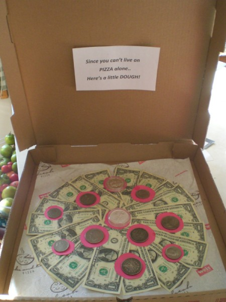 Thrifty Fun Pizza Cash Gift