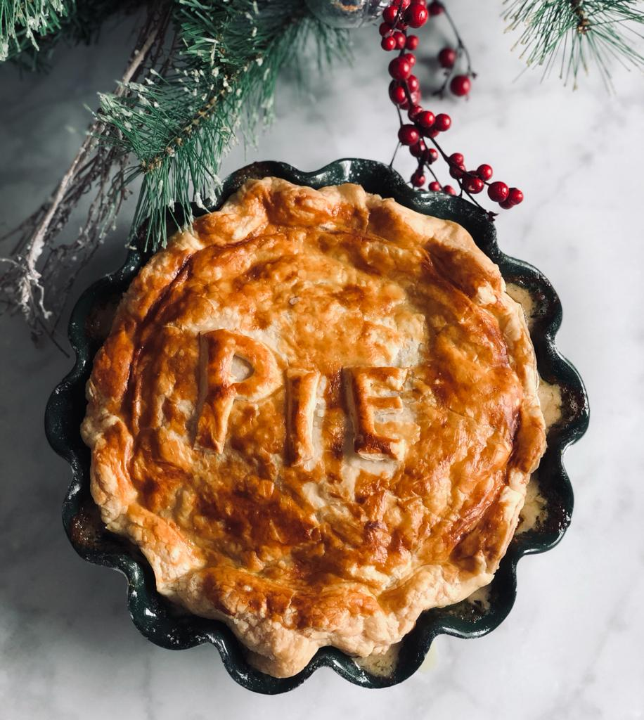 The Ultimate Turkey Pie