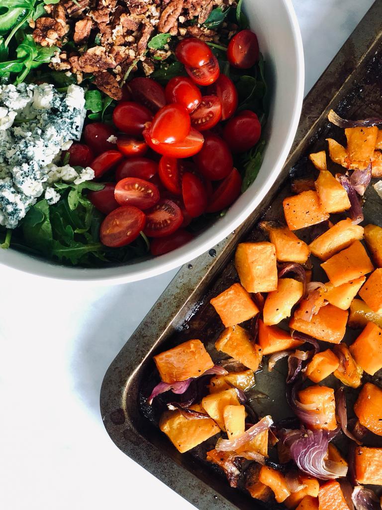 Winter Butternut Squash Salad