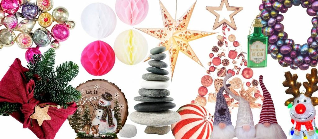 Trends for Christmas 2021 Cover Picture - selection of key trends