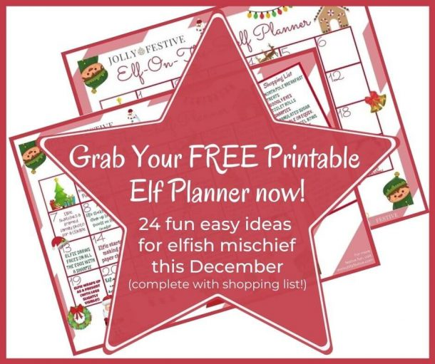 Grab Your FREE Printable Elf Planner Now!