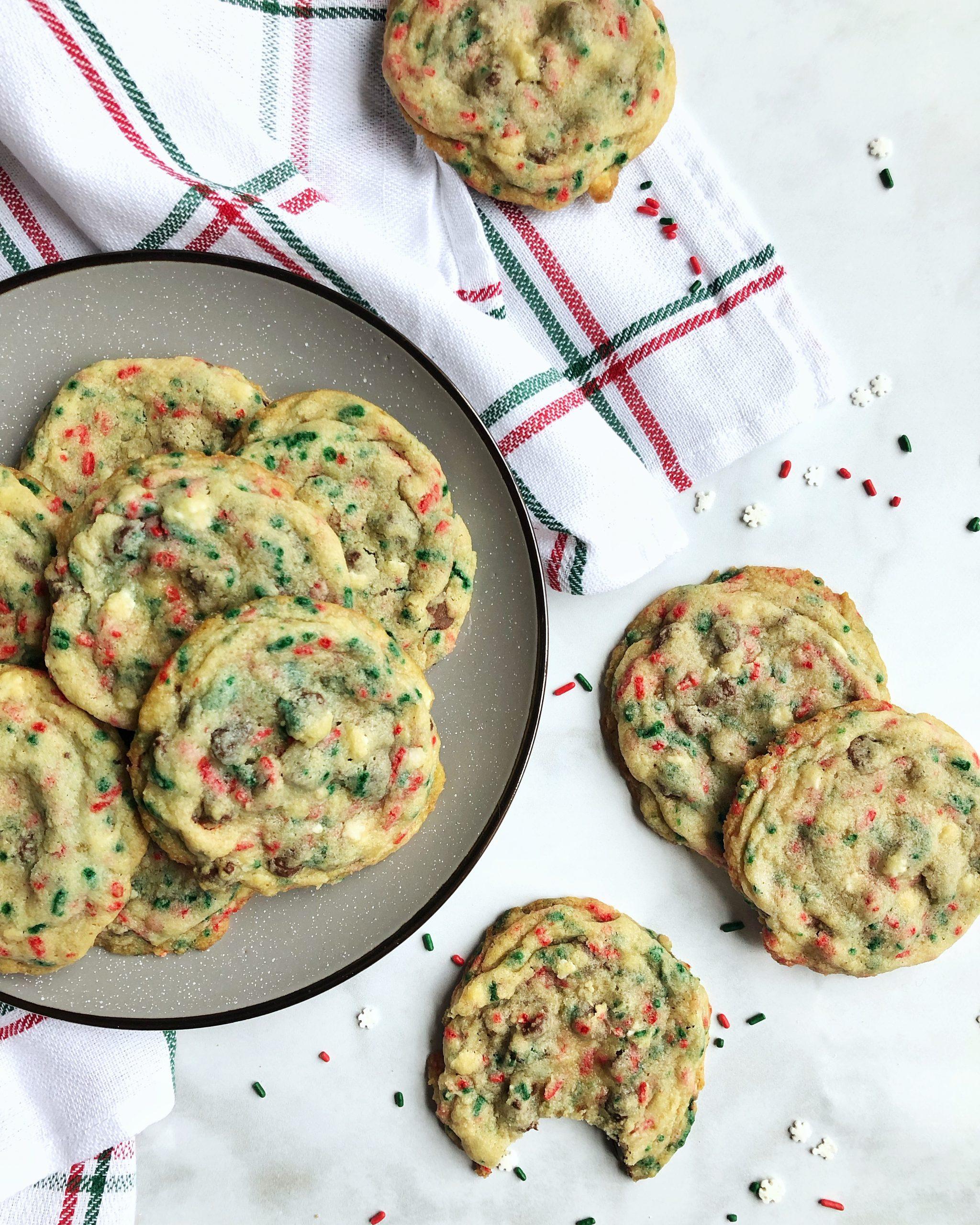 Cookie Jar Sprinkle Cookies