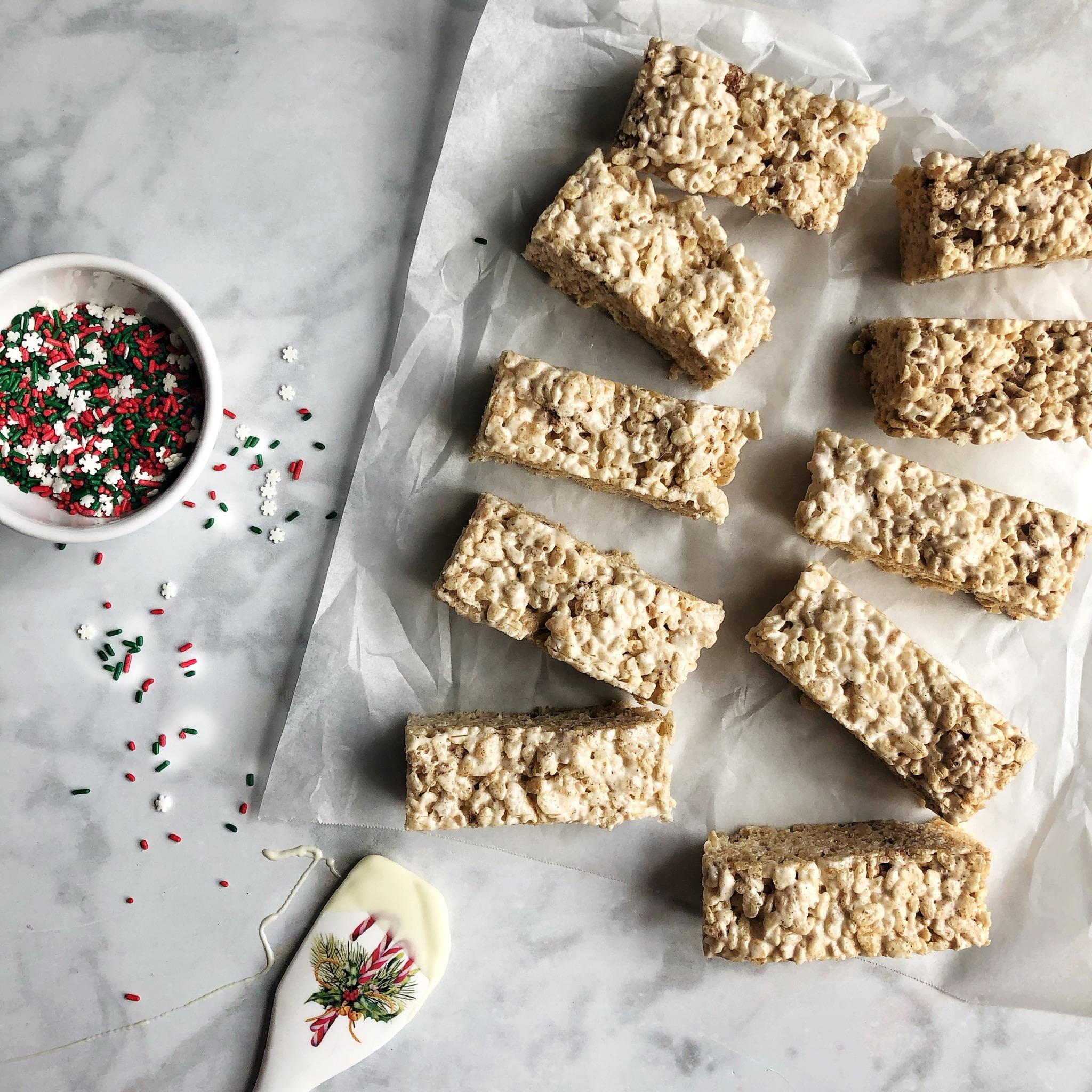 Rice Krispie Treats & Sprinkles