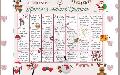 Spread Joy with a Kindness Advent Calendar