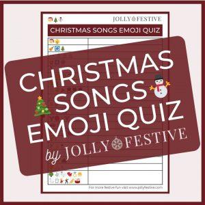 Christmas Songs Emoji Quiz Flyer