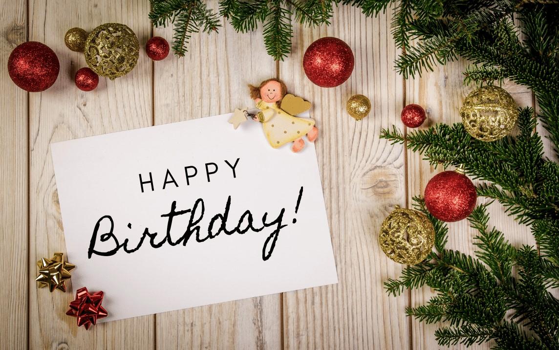 Birthday Advent Calendar Message