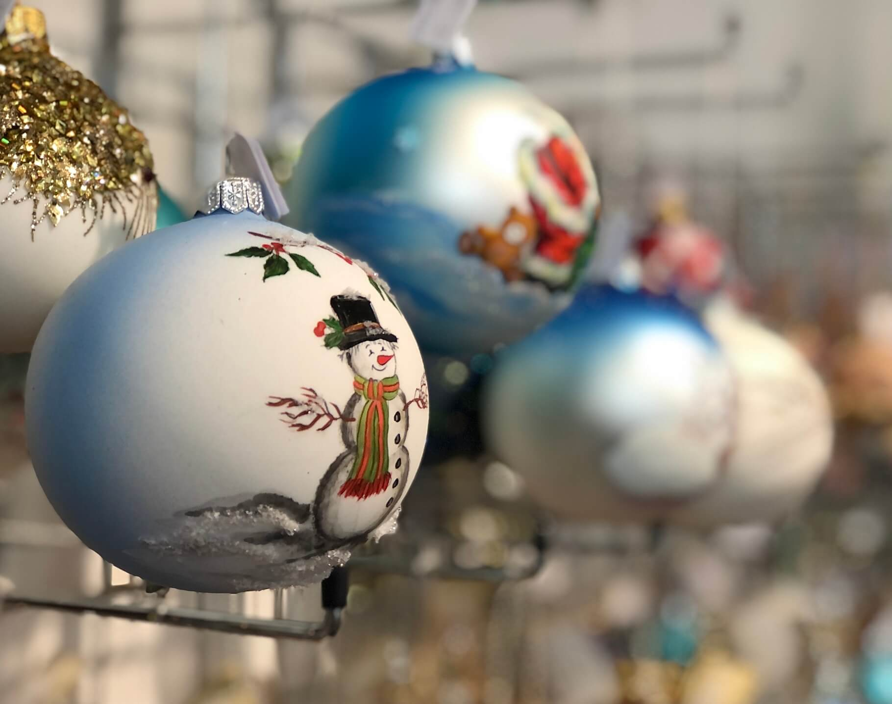 Handpainted Baubles From Poland on sale in Tidings