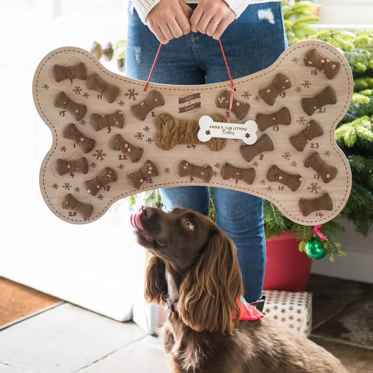Refillable Dog Biscuit Advent Calendar
