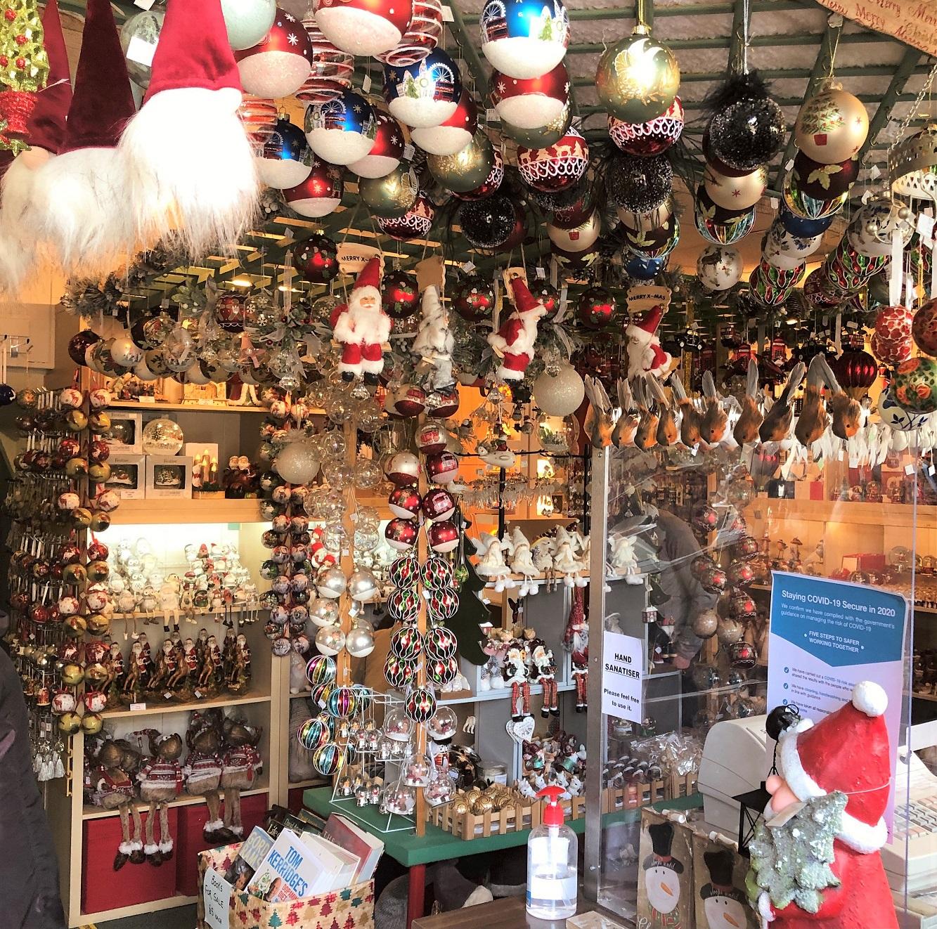 Shop Interior Victorian Christmas Shop Cotswolds