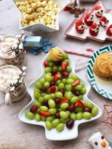 Fruit Christmas Tree North Pole Breakfast Idea
