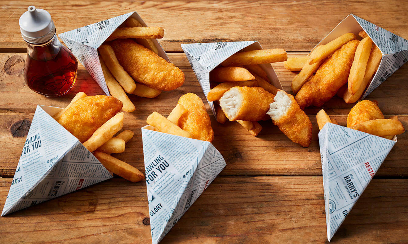 Iceland Harry Ramsden's Cod & Chip Cones