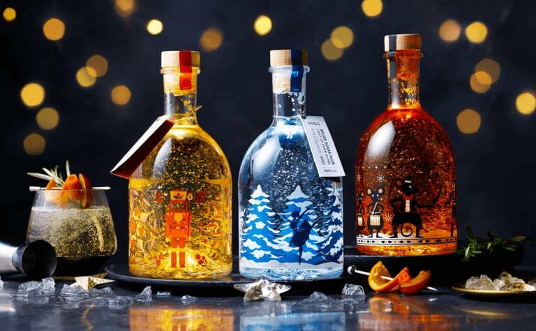 M&S Light-Up Gins & Rum