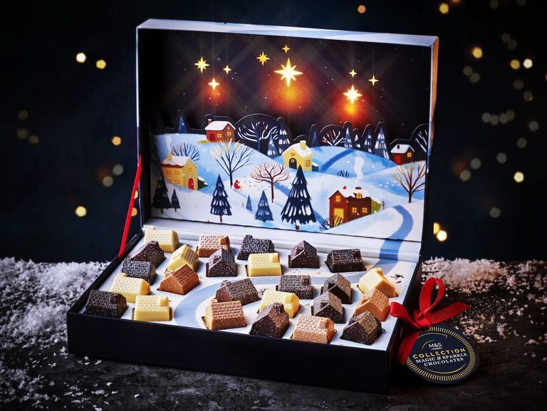 M&S Magic & Sparkle Light-Up Chocolate Box