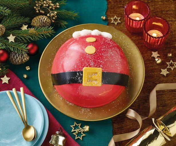 Morrisons Santa Belly Cake