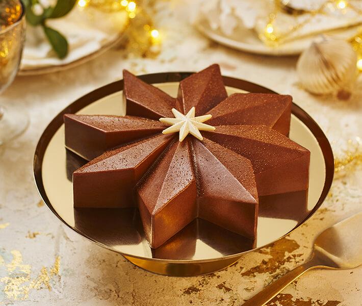 Sainsbury's Belgian Chocolate & Salted Caramel Star
