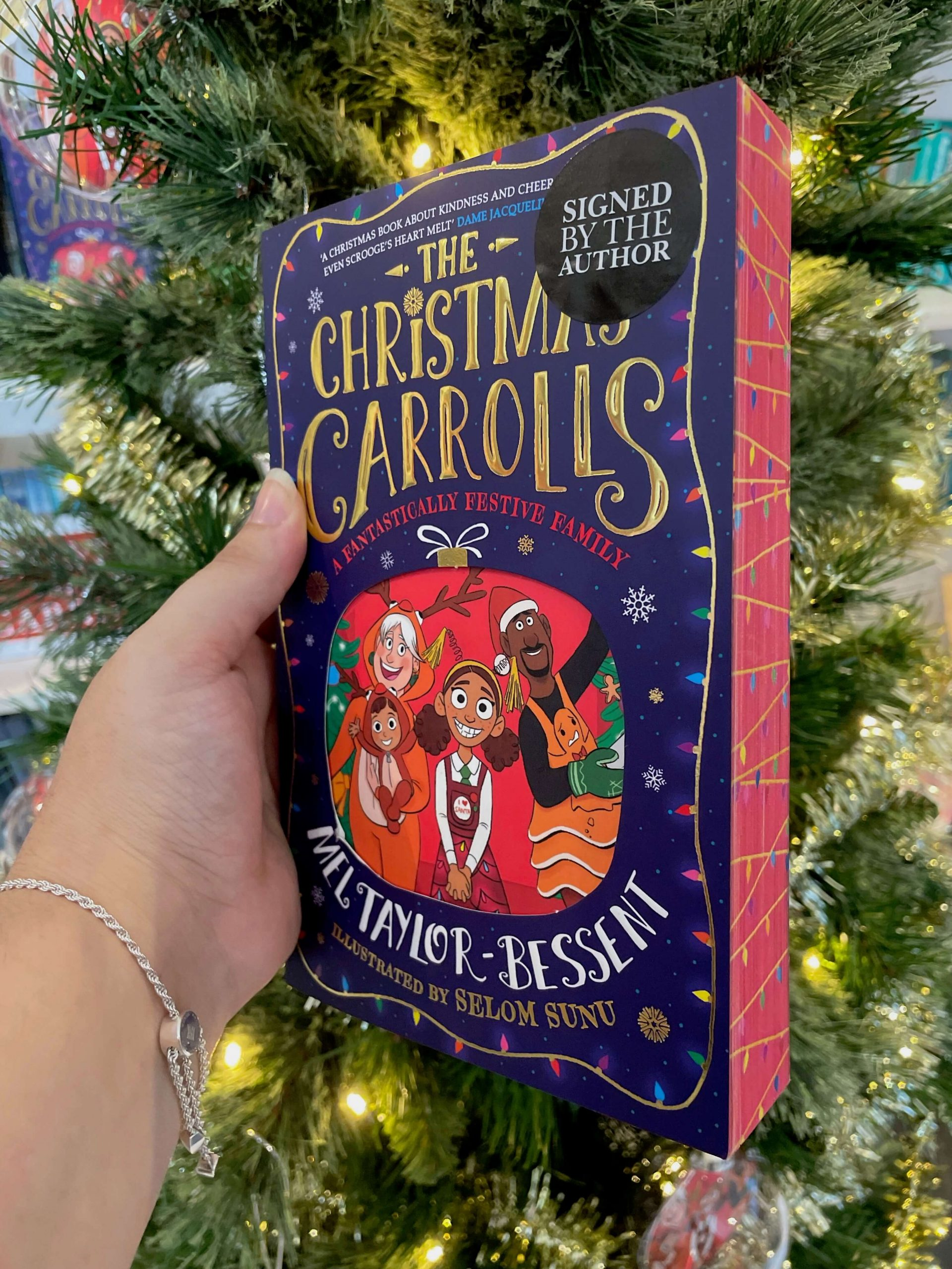 The Christmas Carrolls close-up