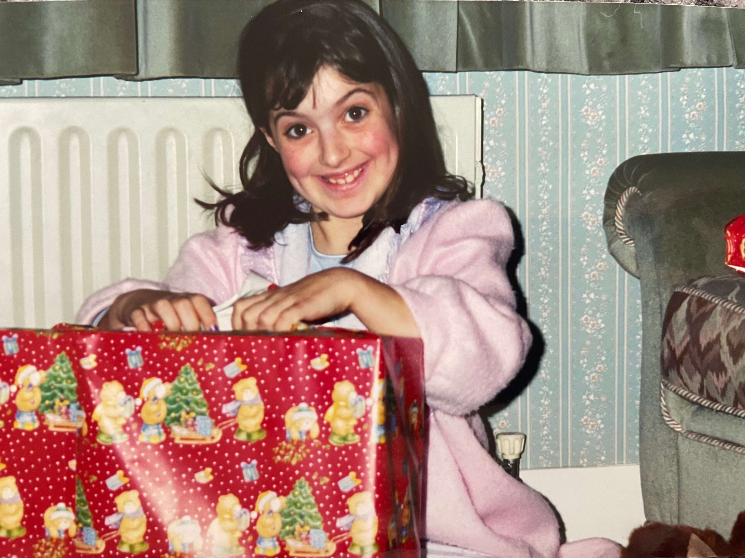 Mel Taylor-Bessent at Christmas