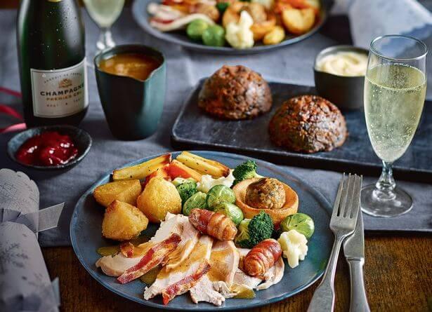 Tesco Finest Christmas Dinner For Two